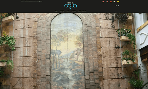 diseño web corral del agua