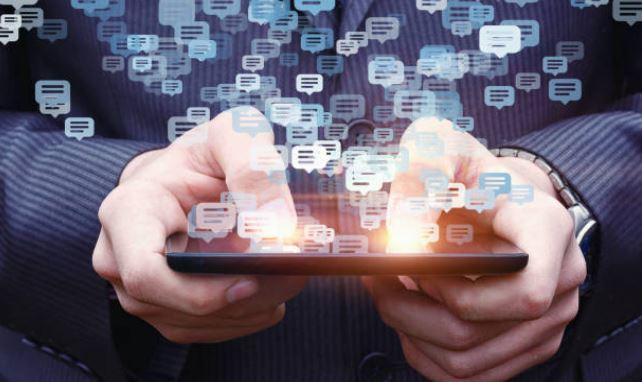 compartiendo en redes