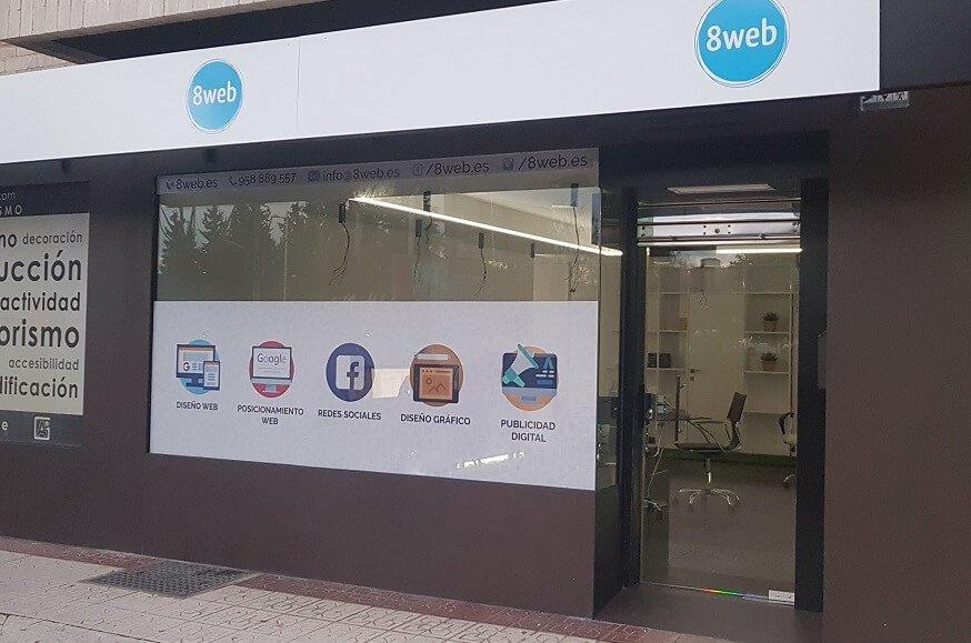 8web Fachada Oficina 2019