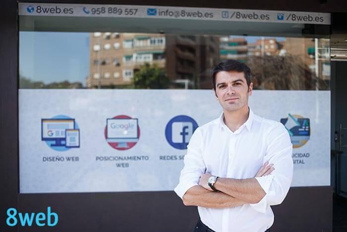 Contacto Agencia de Marketing Digital 8web
