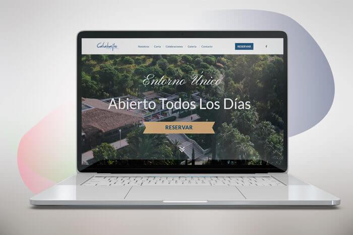 diseño web en granada restaurante
