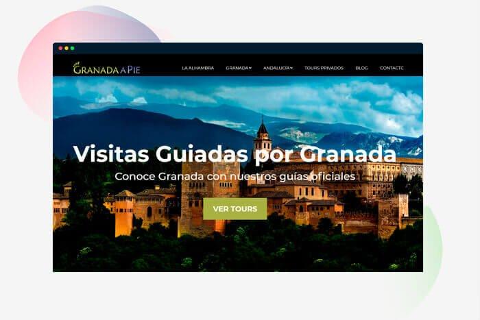 diseño web en granada turismo